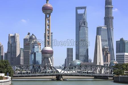 waibaidu, bridge, architectural, exterior, city, life - 29757419