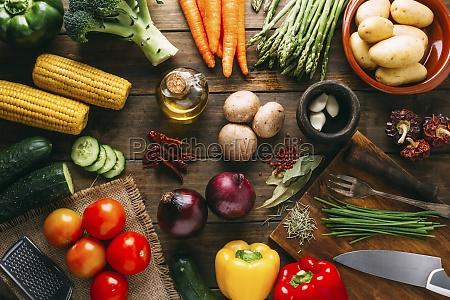 natura, morta, vegetale, con, pannocchie, di - 29888251
