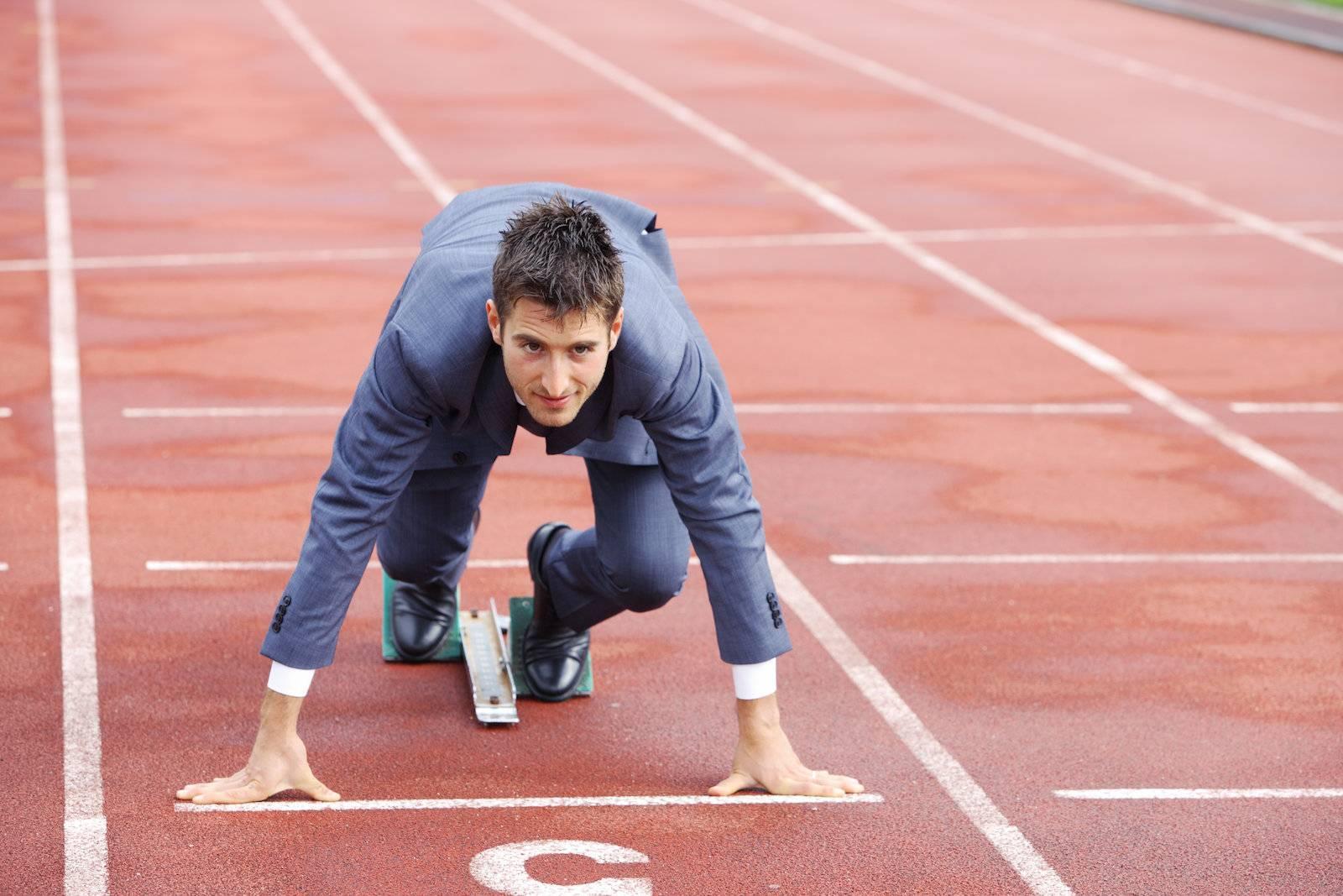 Adult, Athlete, Business, Business man, Caucasian, Challenge - D9614004