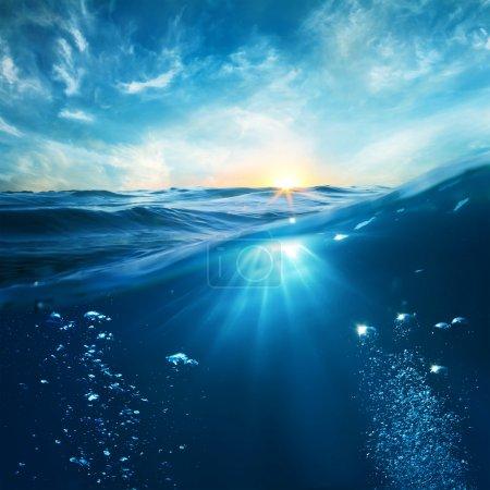 Blu, Contesto, Elemento, Progettazione, Rilassamento, Luce del sole - B31457785