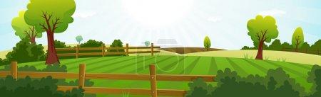verde, sfondo, illustrazione, lucido, Cielo., luminoso - B16056421