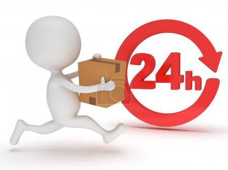 rendere, regalo, isolate, scatola, pacchetto, pacco - B47966895