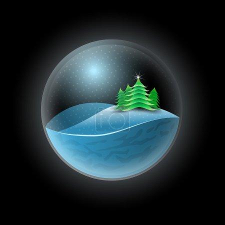 sfera, vettore, sfondo, cerchio, illustrazione, Progettazione - B32254521