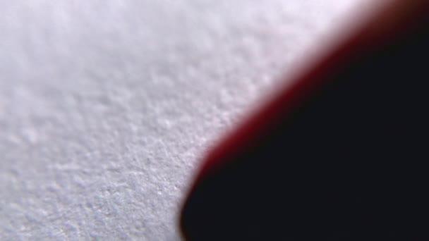 rosso bianco grafico close up macro