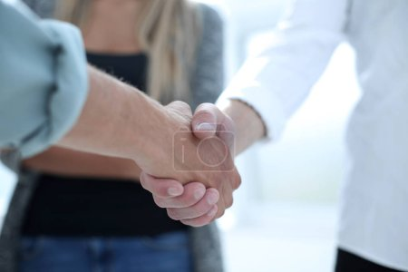 tavolo, gruppo, saluto, Attività commerciali, persona, femmina - B218415528