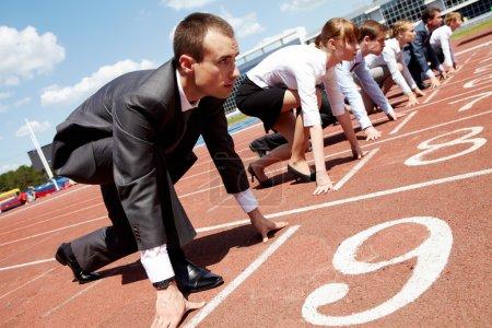 Sport, competizione, competitivo, competere, aziendale, persona - B11309829